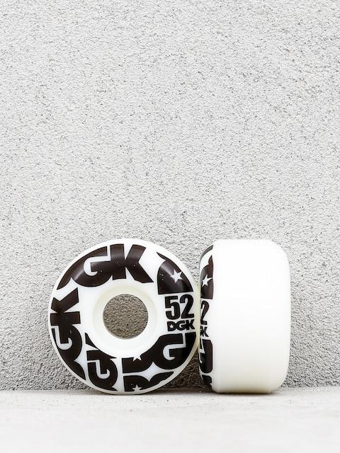 DGK Street Formula Wheels (white/black)