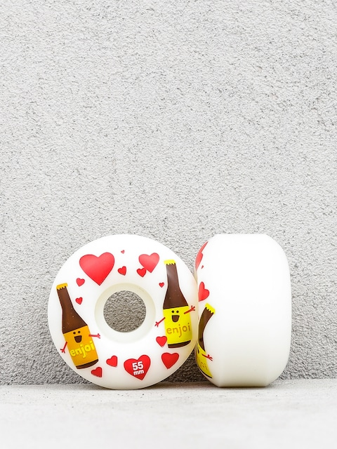 Enjoi Smitten Beer Wheels (white)