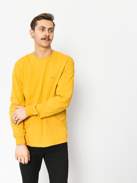 Stussy Stock Longsleeve (mustard)