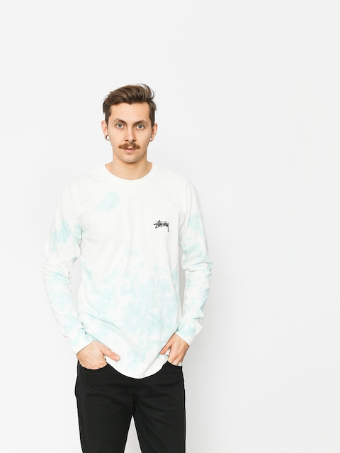 Stussy Small Stock Td Longsleeve (natural/blue)