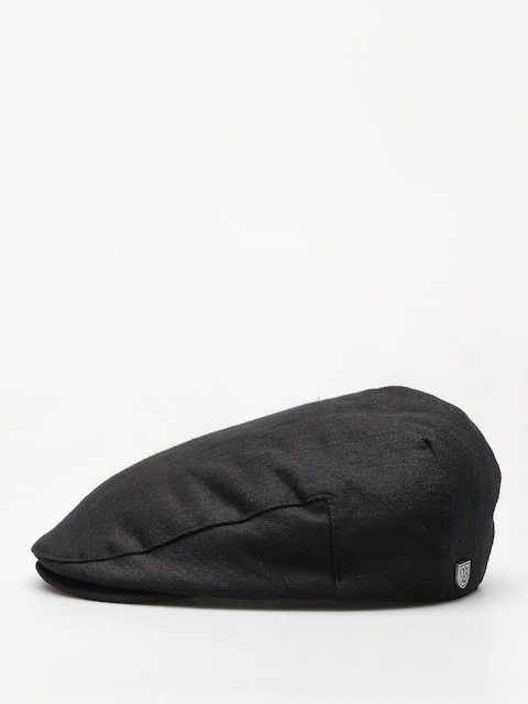 Brixton Hooligan Snap ZD Flat cap (black linen)