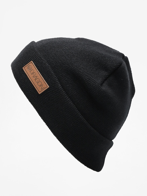 Dragon Basic Cuff Beanie (black)