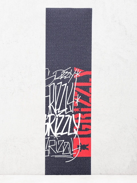 Grizzly Griptape Scrawl Grip (black)
