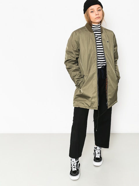Vans Boom Boom Rev Long Jacket Wmn (dusty olive)
