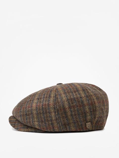 Brixton Brood Snap ZD Flat cap (moss/navy)