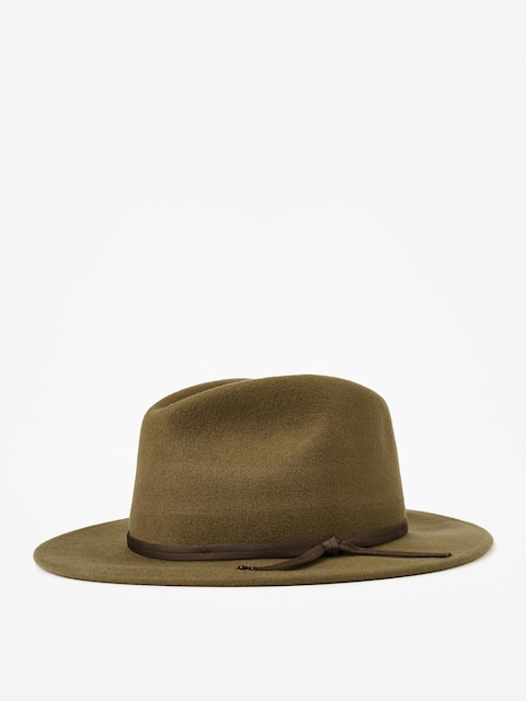 Brixton Coleman Fedora Hat (light olive)