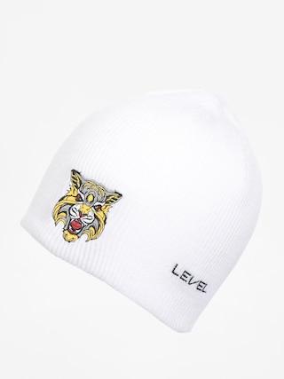 Level Sq Beanie (white)