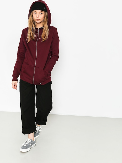 Volcom Walk On By ZHD Hoodie Wmn (bur)