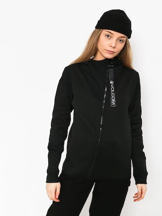 Volcom Walk On By Tech Sweatshirt Wmn (blk)