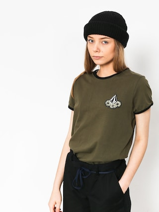 Volcom Keep Goin Ringer T-shirt Wmn (dca)