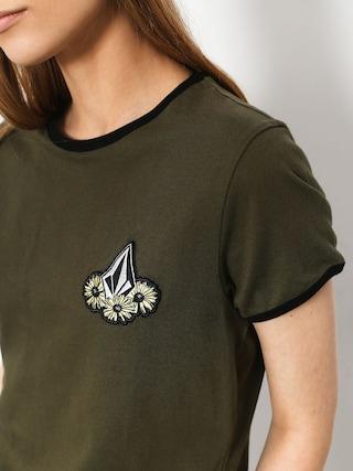Volcom Keep Goin Ringer T-shirt Wmn (dca)