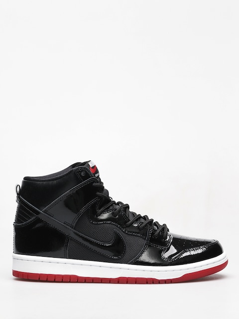Nike SB Sb Zoom Dunk High Tr Shoes (black/black white varsity red)