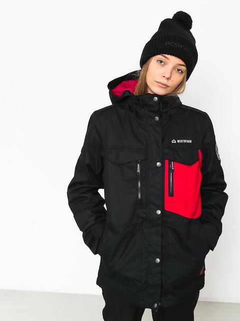 Westbeach Waltz Snowboard jacket Wmn (black/cherry)