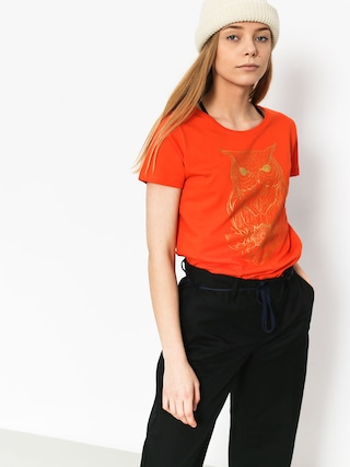Majesty Owl Lady T-shirt Wmn (orange)
