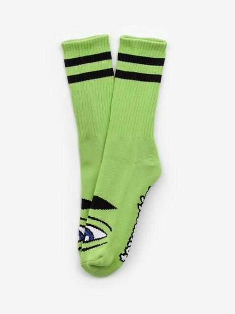 Toy Machine Sect Eye Socken (green)