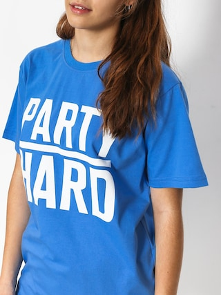 Diamante Wear Party Hard T-shirt Wmn (royal)