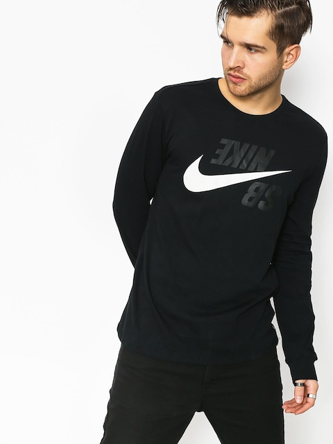 Nike SB Sb Backwards Longsleeve (black/phantom)