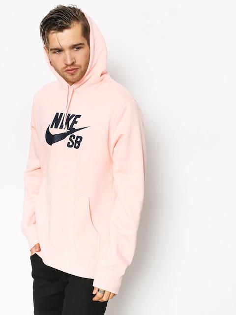 Nike SB Sb Icon Sweatshirt (storm pink/obsidian)