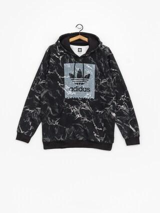 adidas Mrble Aop HD Hoody (black/white)