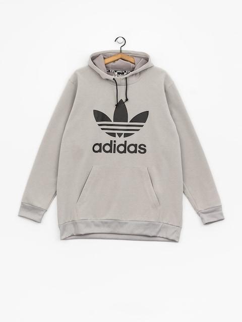 adidas Team Tech HD Hoody (medium grey heather/black)