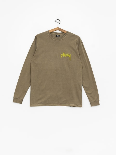 Stussy Stock Pig Dyed Longsleeve (army)