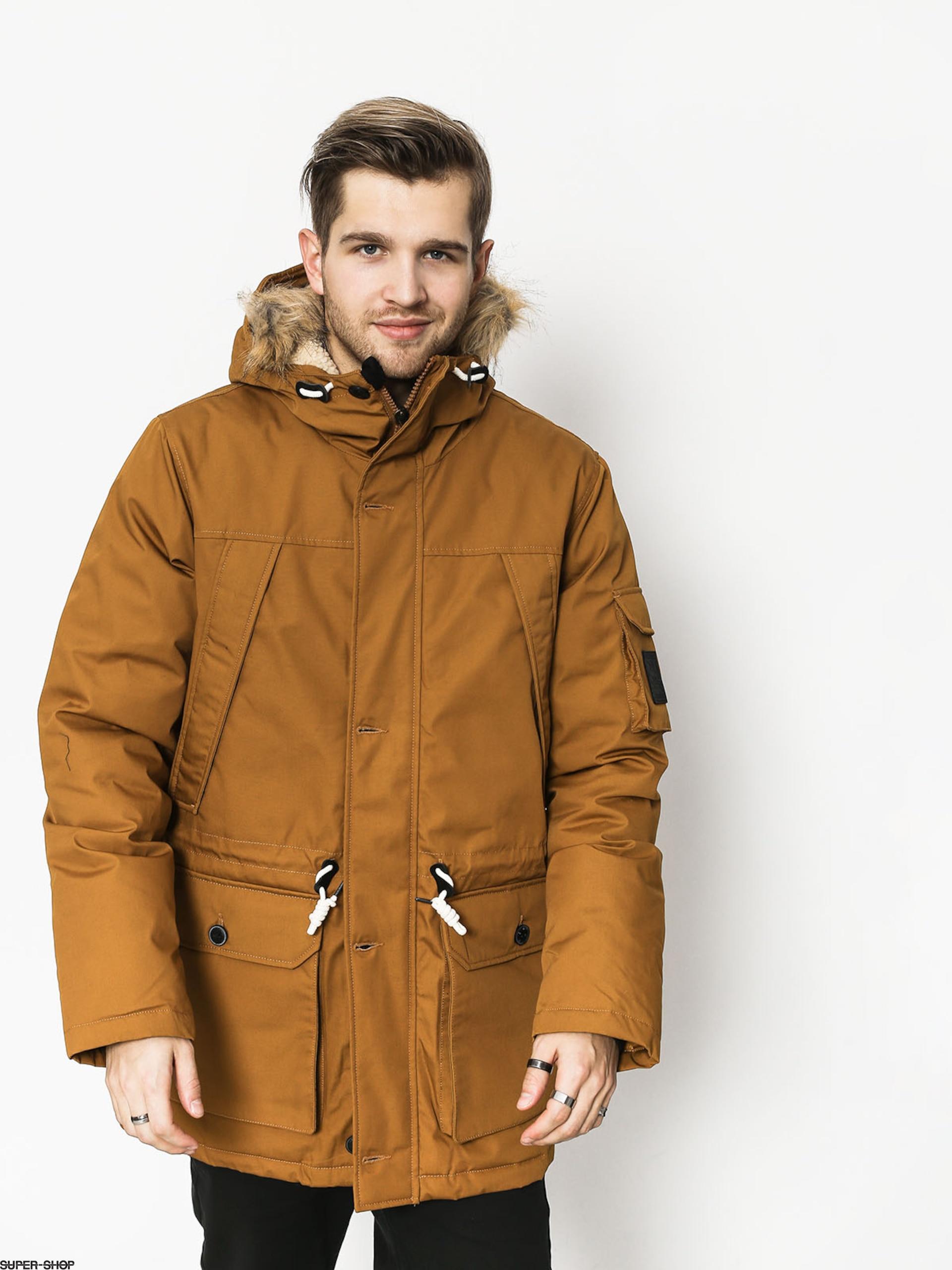 2248f0ea3 Element Explorer Down Parka Jacket (gold brown)