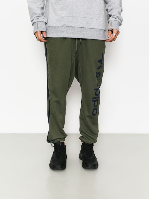 adidas Bb Sweatpants Pants (basgrn/conavy)