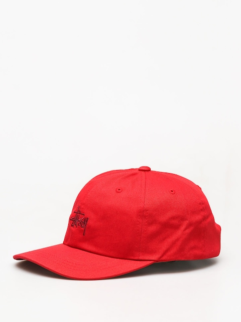 Stussy Ho18 Stock Low Pro ZD Cap (red)