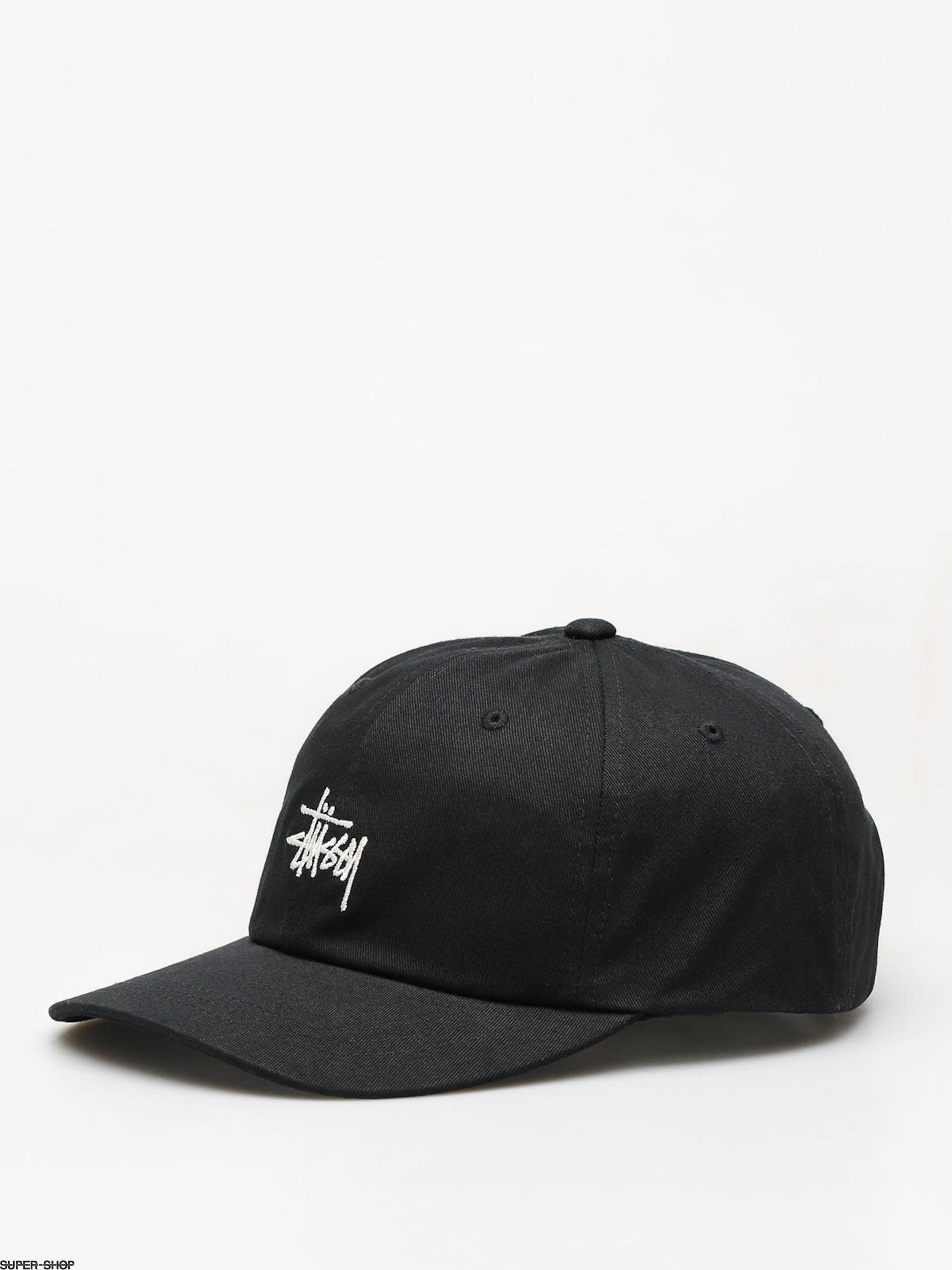 f695e69d464 Stussy Ho18 Stock Low Pro ZD Cap (black)