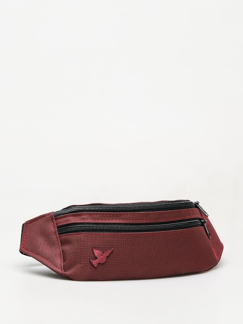 Nervous Patch Bum bag (maroon)