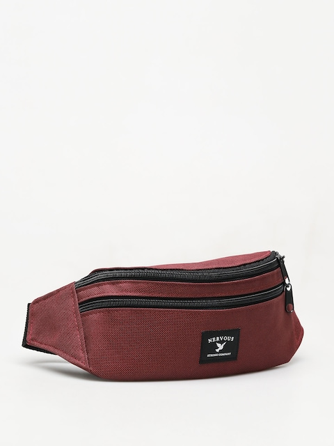 Nervous Brand Bum bag (maroon)