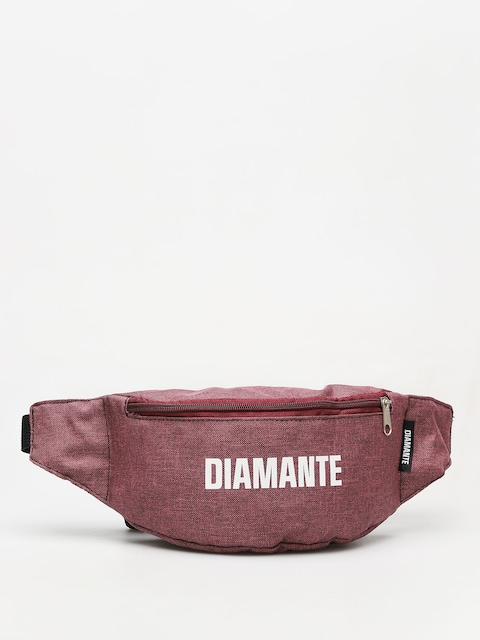 Diamante Wear White Logo Gürteltasche (maroon)