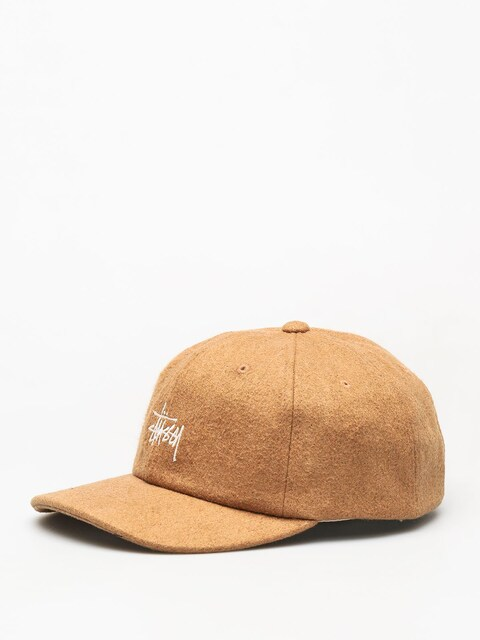 Stussy Stock Wool Low Pro ZD Cap (camel)