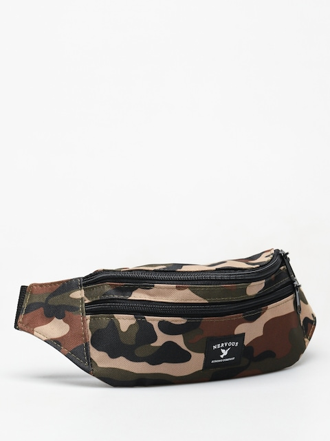 Nervous Brand Bum bag (camo)