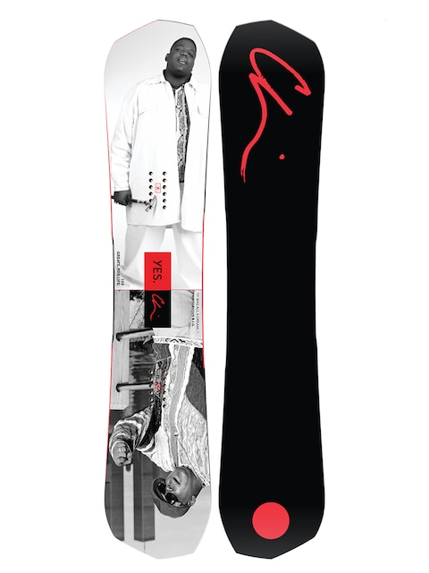 Yes Snowboard Greats Chi Wmn (notorious b i g/black)