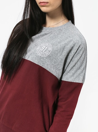 Volcom Blocking Crew Sweatshirt Wmn (bur)