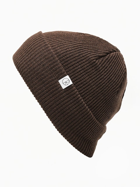 Polar Skate Merino Wool Beanie (brown)