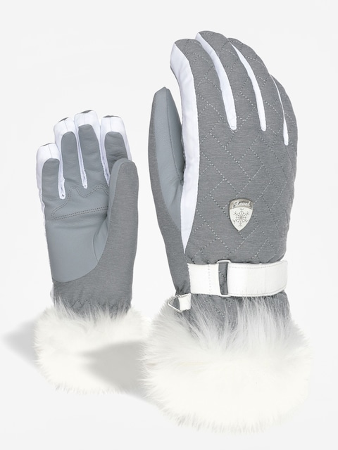 Level Chanelle Gloves Wmn (grey)