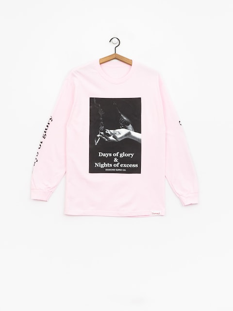 Diamond Supply Co. Night Of Excess Longsleeve (pink)