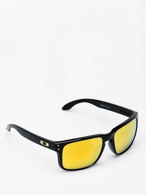 Oakley Holbrook Sunglasses (polished black/24k iridium)