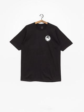 Dragon Icon Staple Line T-shirt (black)