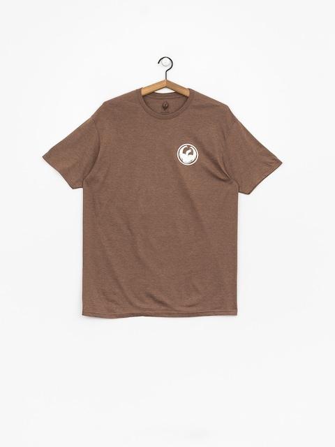 Dragon Icon T-shirt (brown heather)