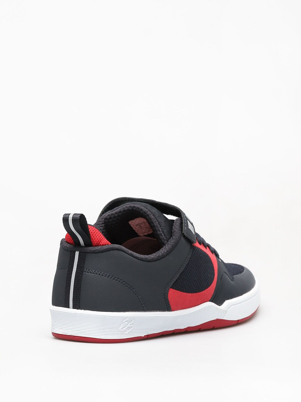 Es Skateboard Shoes Accel Plus Ever Stitch Grey//Red