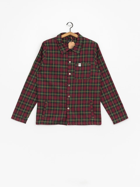 The Hive Flannel Overshirt Shirt