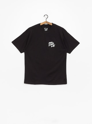 Polar Skate Angry Stoner T-shirt (black)