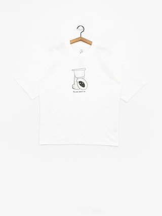Polar Skate Toilet Surf T-Shirt (white)