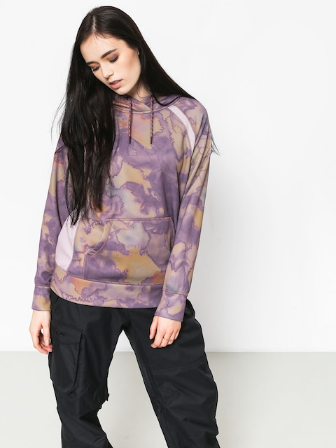 Burton Crown Bndd HD Active sweatshirt Wmn (quartz camo)