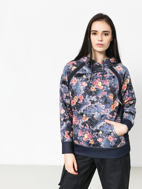 Burton Crown Bndd HD Active sweatshirt Wmn (prickly pear)