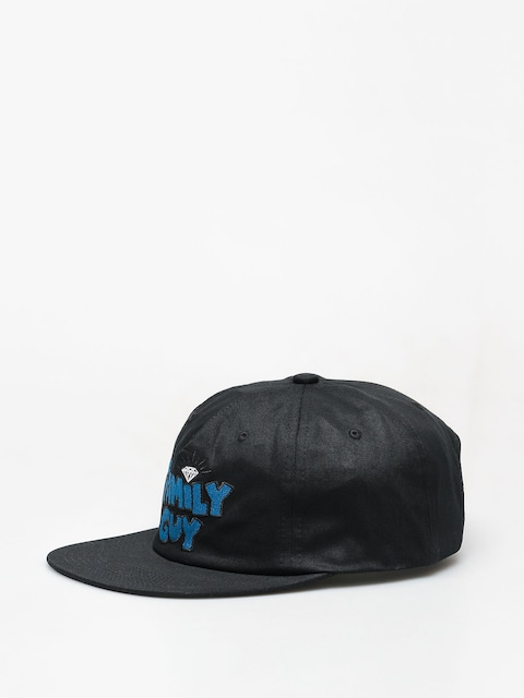 Diamond Supply Co. Family Guy Unstructured Snap ZD Cap (black)