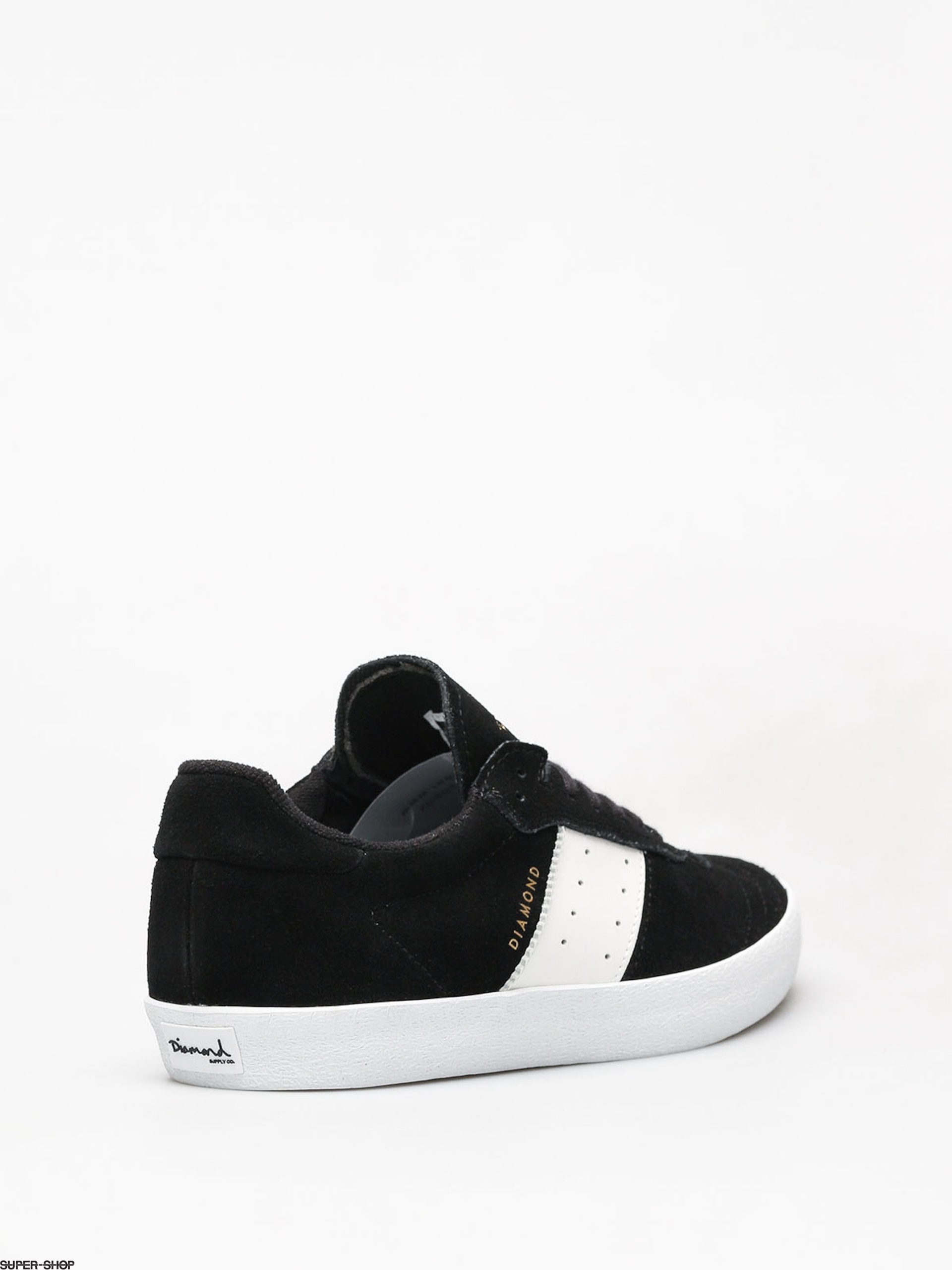 Diamond Supply Co. Barca Suede Shoes (black) 56823e4fec1
